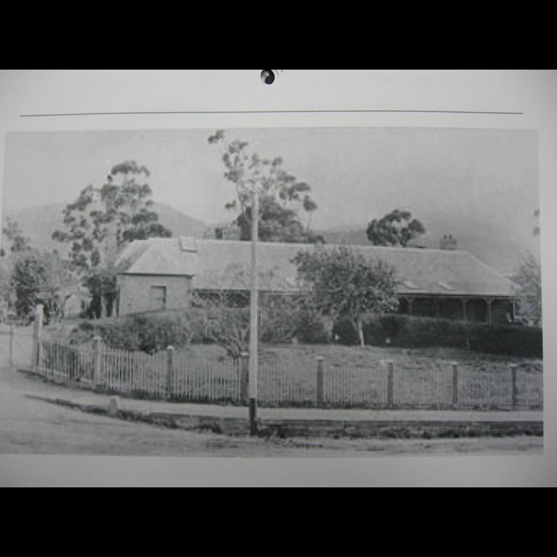 Military Hospital circa 1890