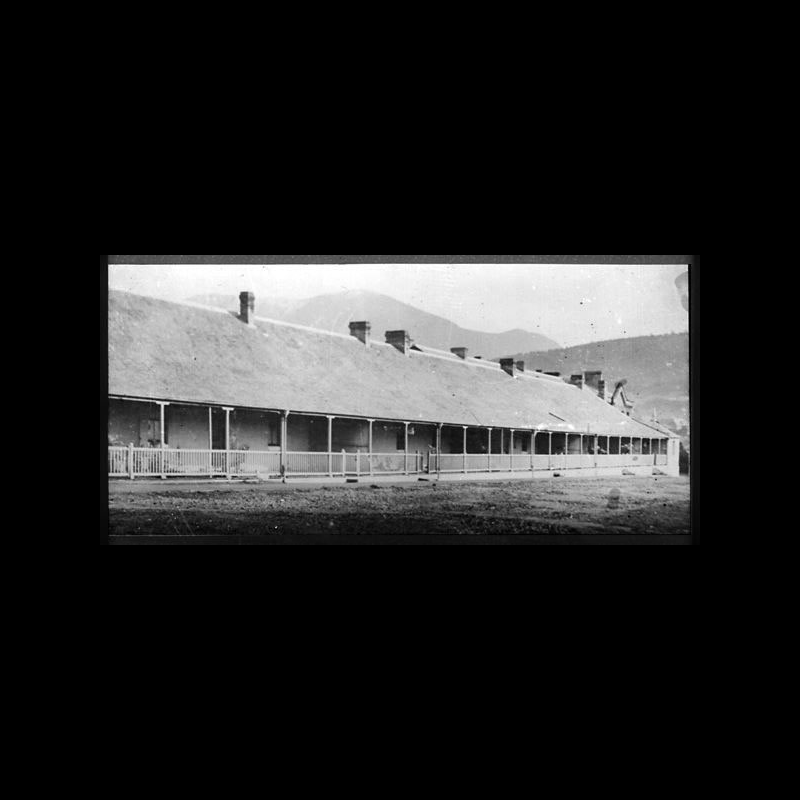 Two Storey Soldiers' Barracks circa 1890