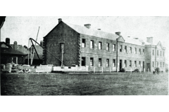 Two Storey Soldiers' Barracks before extension circa 1911