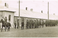 New soldiers barracks circa 1930