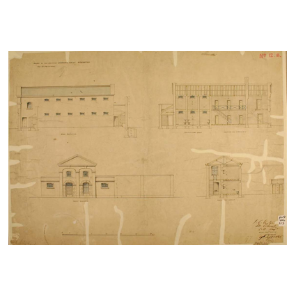 No 13 Military Prison 1847
