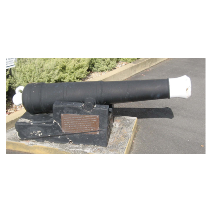 No 23 Smooth Bore 6Pdr Cannon