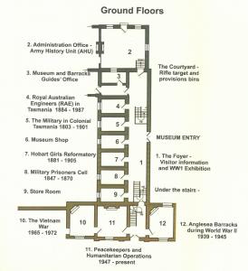 exebition ground floor