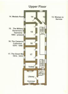 exebition upper floor