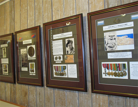 Medals displays