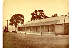 Field Officers' Quarters circa 1870